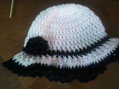 Chiq Almost Floppy Brim Hat free crochet pattern