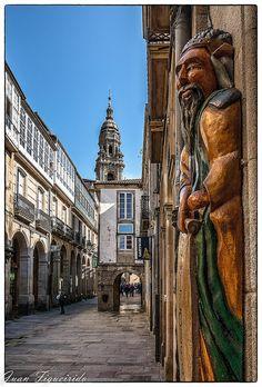 Rúas de Santiago de Compostela
