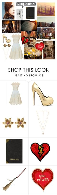 """""Take a chance, take your shoes off, dance in the rain"" - Panic! at the disco"" by rather-be-surfing ❤ liked on Polyvore featuring Chi Chi, Giuseppe Zanotti, La Perla, Natalie B and Patch Ya Later"