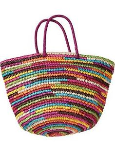 Women's Straw Totes   Old Navy