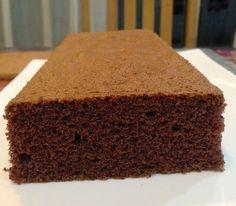 Pão de Ló de Chocolate Especial para Bolos Artísticos