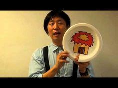 浦中こういち紙皿シアター第二弾『ドアをトントントン!』 たのしい演じ方 - YouTube