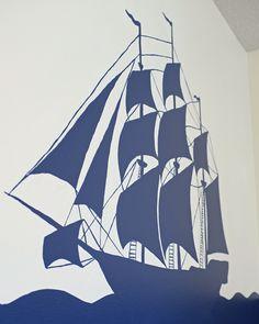 Playroom Silhouette Mural – At Long Last!