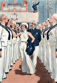 Illustration by Armand Vallee For La Vie Parisienne