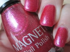 Magnetic Nail Polish, Pink Explosion #<3 pink