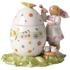 Villeroy & Boch Bunny Family Egg Box : Painter 5x3.25in-00