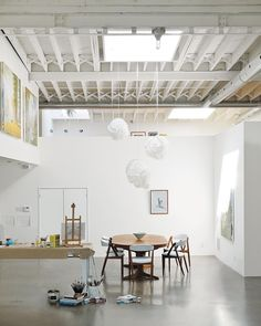In Toronto, a painter accustomed to crashing in his studio created an airy artistic haven with both working and living quarters for a more…