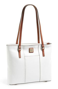 Dooney & Bourke 'Lexington - Pebble Grain Collection' Water Resistant Tumbled Leather Shopper available at #Nordstrom