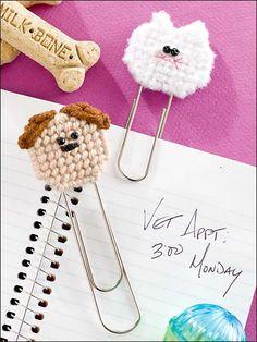 Plastic Canvas - Accessories - Decorations & Knickknacks - Pet Clip Tips - #FP00535