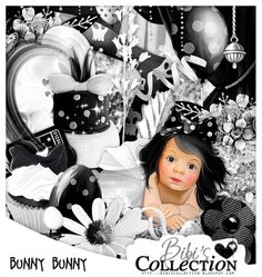 "Kit ""BUNNY BUNNY"" by Bibi's Collection matching kit to new tube by Andy Cooper called ""Black Easter""  http://scrapsncompany.com/index.php?main_page=product_info&cPath=112_114_168&products_id=18736"