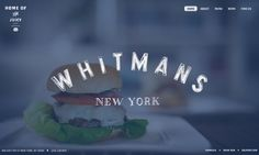 Clever, minimalistic and beautiful  http://www.whitmansnyc.com/