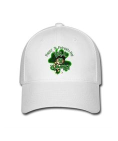 White St Patrick's Day Shamrock Sayings Blonde & Irish Goed verkopend Female's Baseball Caps