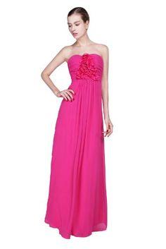 *Maillsa Chiffon Strapless Bridesmaid Dress Prom Dress MS13B0051 (US 10, Fuchsia) Maillsa,http://www.amazon.com/dp/B00EUAR8DS/ref=cm_sw_r_pi_dp_drytsb04DW9JD4GN