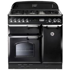Buy Rangemaster Classic 90 Gas Range Cooker, Natural Gas, Black from our Cookers range at John Lewis. Free Delivery on orders over Induction Range Cooker, Dual Fuel Range Cookers, John Lewis, Casserole En Fonte, Freestanding Oven, Oven And Hob, American Fridge Freezers, Timber Kitchen, Kitchen