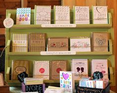 Greeting card display ideas new best stationery displays images on birthday retail inspirational slot disp Craft Fair Displays, Display Ideas, Card Displays, Slot Machine, Karten Display, Party Friends, Craft Stalls, Craft Markets, Craft Show Ideas
