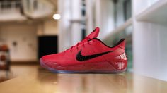 DeMar DeRozan Gets An All-Red PE Colorway Of The Nike Kobe A.D.