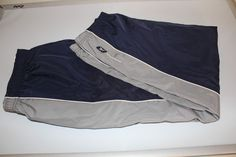 reebok men pants blue/silver  (M) pre-owned excellent condition #Reebok #Pants #ebay