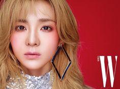 Former 2NE1 Member Dara Poses For 'W'! | Koogle TV
