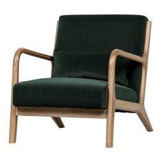 WOOOD Mark Fauteuil Decoration Design, Deco Design, Bureau Design, Bohemian Apartment Decor, Tapis Design, Estilo Retro, House Doctor, Color Splash, Love Seat