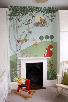 Manly Craft Month – Adam Regester - childrens nursery mural - interior art