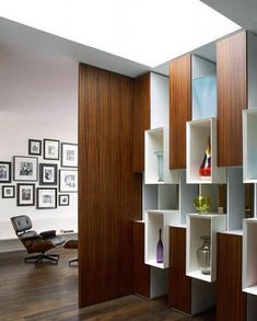 80 Incredible Room Dividers and Separators With Selves Design