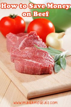 How to Save Money on Beef #tips #inspireothers