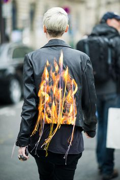 Not only do I LOVE Kate Lanphear, but whose jacket is THIS! (#iwantthisnow!)
