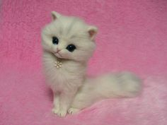 PDF Tutorial II Needle Felted Longhaired Cat by LilyNeedleFelting