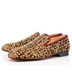 Christian Louboutin, Rollerball spikes, Leopard loafers