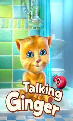 Talking Ginger  App