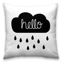 Almofada Hello Rain