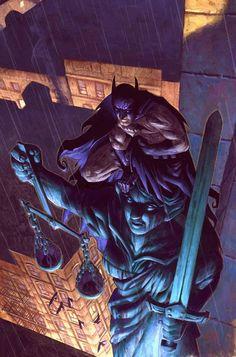 batman by Nic Klein