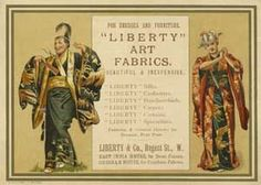 Liberty & Co advert in the programme for The Mikado 1885