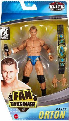 John Cena Wwe Champion, Figuras Wwe, Wwe Action Figures, Wwe Champions, Mattel, Randy Orton, 8 Year Olds, Wrestling, Baseball Cards