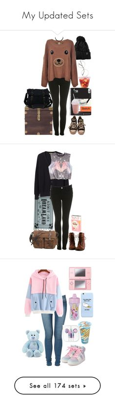 """""""My Updated Sets"""" by daddyslittleslut ❤ liked on Polyvore featuring Wet Seal, Miss Selfridge, Universal, Menu, Woven Workz, Marie Meili, Converse, Too Faced Cosmetics, Tommy Hilfiger and Charlotte Russe"""