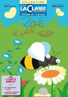 Un joli conte initiatique sur le thème des petites bêtes du jardin, grâce à l'abeille Zoé, à suivre en 6 chapitres. Chaque partie se compose d'un texte court, d'une illustration à colorier, d'une série de questions de compréhension en rapport avec l'histoire et qui permettront de travailler le vocabulaire, le graphisme, les mathématiques, l'observation, l'espace et le temps.