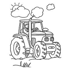 Top 25 Free Printable Tractor Coloring Pages Online Avas 2nd