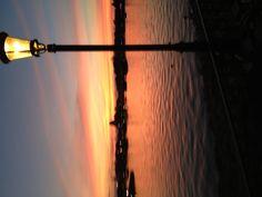 Sunset at Epcot