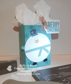 Chubby Snowman -Isn't this adorable????  Go check out my blog to see the details for a Reindeer and a Penguin box with a video here:  http://astampabove.typepad.com/my-blog/2015/10/feature-friday-chubby-snowman-box-video.html  Thanks for watching!