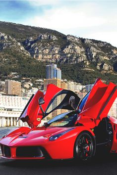 Ferrari Laferrari (Named after the company itself and only 499 were ever made)