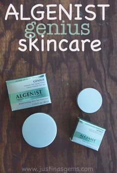 Algenist Genius Skincare is the reason my skin has looked so nice lately! It's perfect for cooler weather and is really diminishing my fine lines.