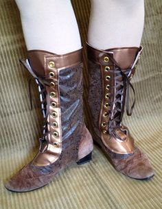 Victorian Inspired Boot Spats