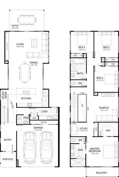 """Learn additional info on """"outdoor kitchen designs floor plans"""". Check out our internet site. Floor Plans 2 Story, Duplex Floor Plans, Two Story House Plans, House Floor Plans, Rustic Kitchen Design, Outdoor Kitchen Design, Kitchen Designs, Backyard Kitchen, Outdoor Kitchens"""