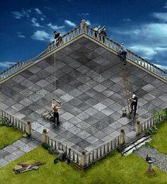 Escher, peintre de l'impossible.                                                                                                                                                                                 Plus