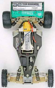 1989 Australia Worlds RC10 - Top Overall Body Off