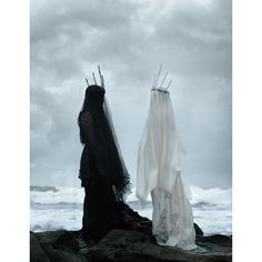 Hauntingly Grim Photoseries ❤ liked on Polyvore featuring home and home decor