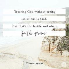 Where faith grows...