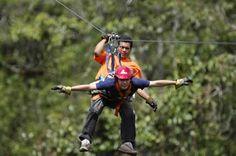 Mindo Ropes Canopy Ecuador Adventures
