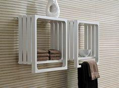 porte serviette conforama en bois salle de bain taupe
