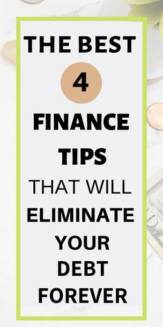 finance tips the step-by-step 4 best financial tips in order to eliminate your debt once and for all. Making a plan that ACTUALLY works and doesnt completely limit you will give you financial freedom! Ways To Save Money, Money Tips, Money Saving Tips, Financial Goals, Financial Planning, Financial Asset, Financial Peace, Budgeting Tips, Debt Free